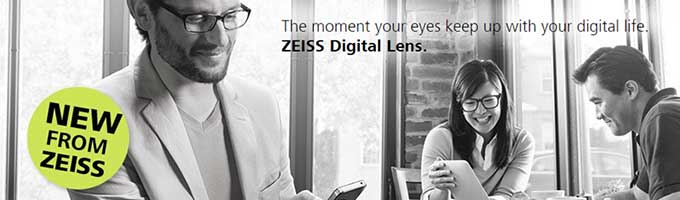 ZEISS Digital Lens in Brenham, TX